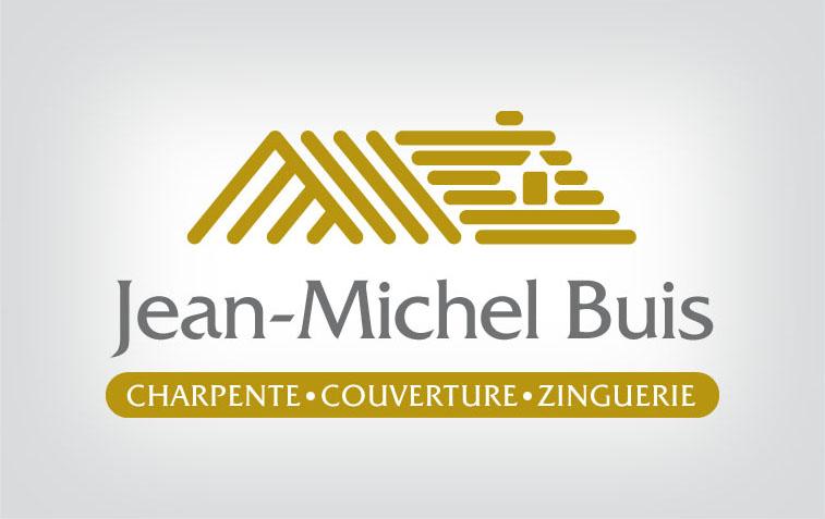 Charpente Couverture Zinguerie Logo Jean Michel Buis